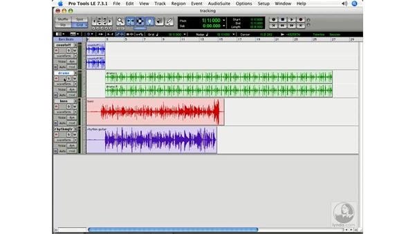 Tracking instruments: Pro Tools 7 LE Essential Training