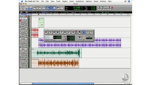 Pre-Roll: Pro Tools 7 LE Essential Training