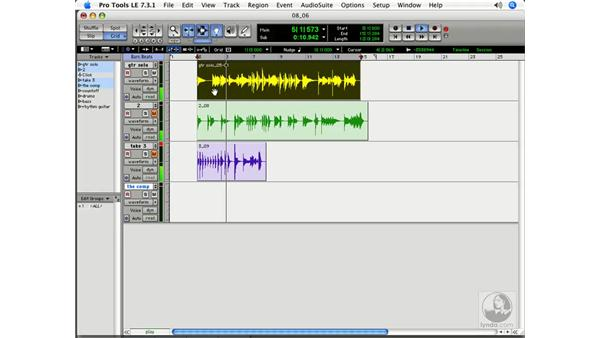 Comping: Pro Tools 7 LE Essential Training