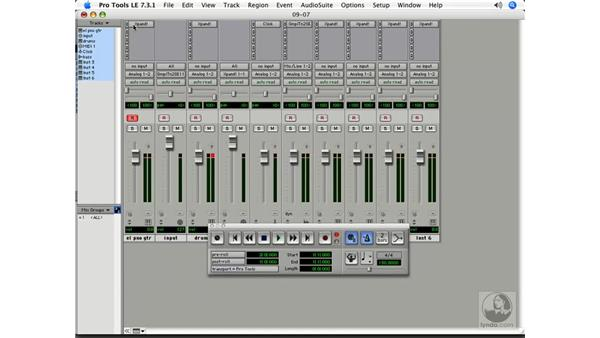 Recording MIDI: Pro Tools 7 LE Essential Training