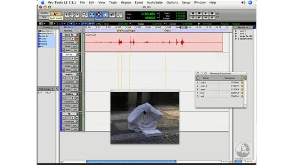Recording Foley: Pro Tools 7 LE Essential Training