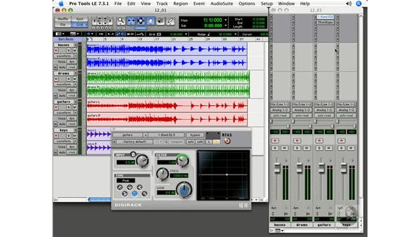 Mixing overview: Pro Tools 7 LE Essential Training