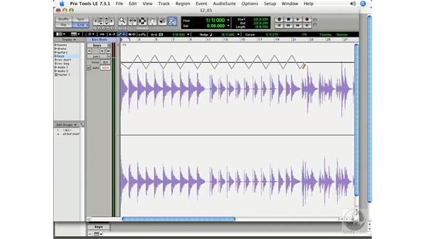 Panning: Pro Tools 7 LE Essential Training