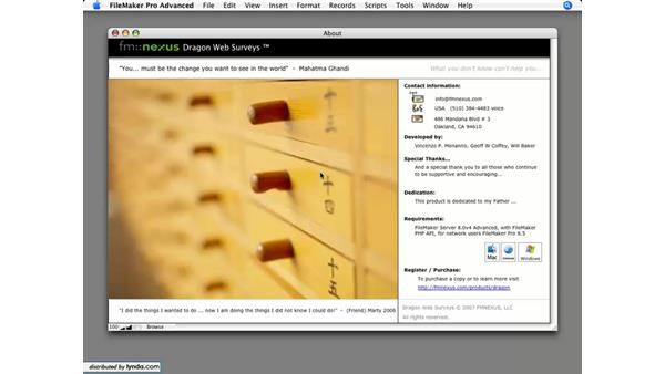 About Dragon Web Surveys: Dragon Web Surveys for FileMaker 8.5