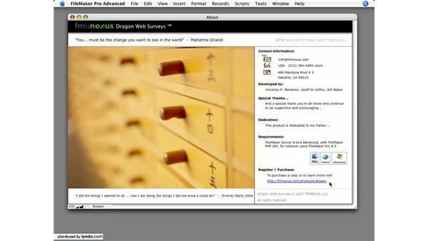 Goodbye: Dragon Web Surveys for FileMaker 8.5