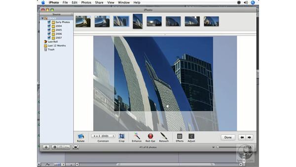 Using iPhoto: Final Cut Express HD 3.5 Essential Training