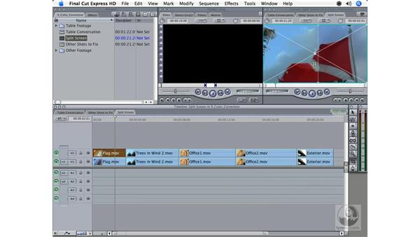 Color correction overview: Final Cut Express HD 3.5 Essential Training