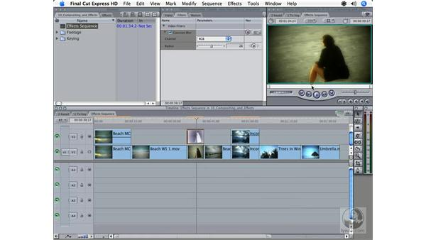 Composite and transfer modes: Final Cut Express HD 3.5 Essential Training