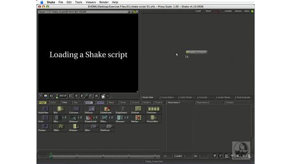 Loading and saving Shake scripts: Shake 4.1 Essential Training