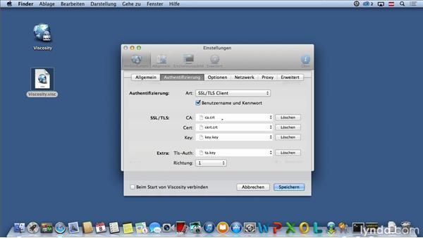 OpenVPN-Client in Mac OS X einrichten