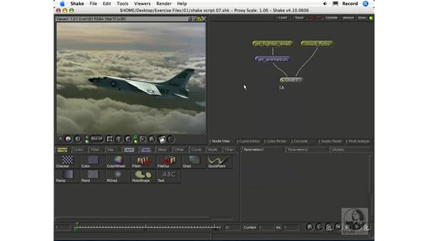 Previewing a composite with Flipbook: Shake 4.1 Essential Training