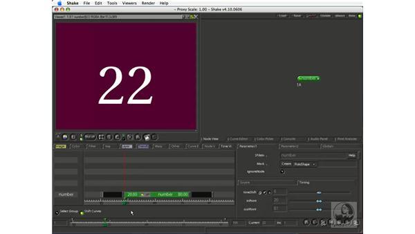 Adjusting clip timing: Shake 4.1 Essential Training