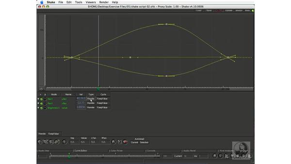 Using the Curve Editor: Shake 4.1 Essential Training