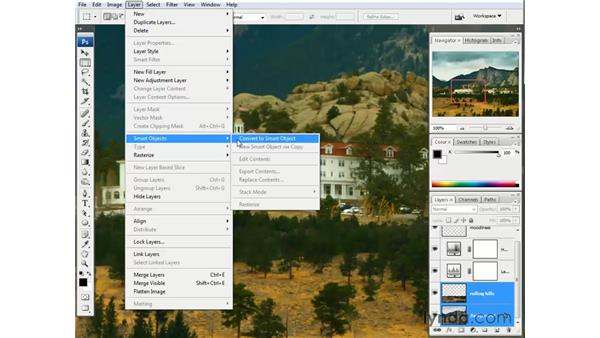 Sharpening the focus of the image: Photoshop CS3 One-on-One: The Essentials