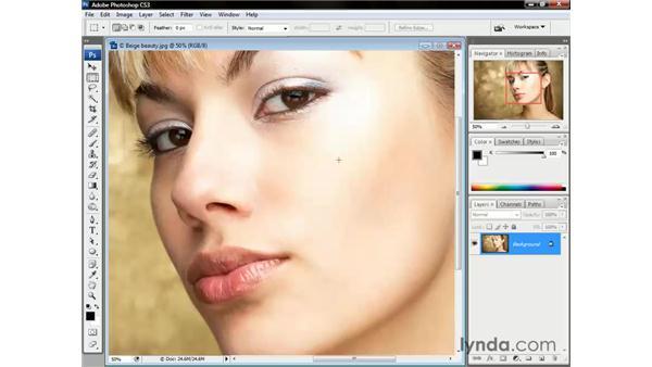 Scroll wheel tricks: Photoshop CS3 One-on-One: The Essentials