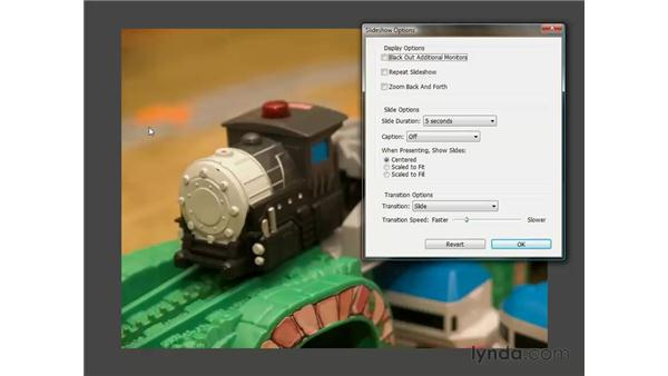 Previewing images in the Slideshow mode: Photoshop CS3 One-on-One: The Essentials