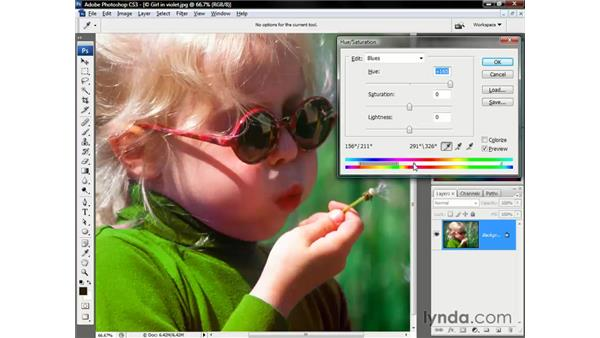Refining your color range: Photoshop CS3 One-on-One: The Essentials