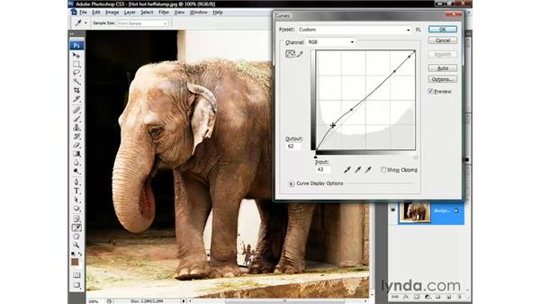 Super useful curve-editing tricks: Photoshop CS3 One-on-One: The Essentials