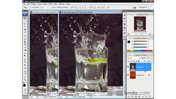 Establishing a base layer: Photoshop CS3 One-on-One: Beyond the Basics