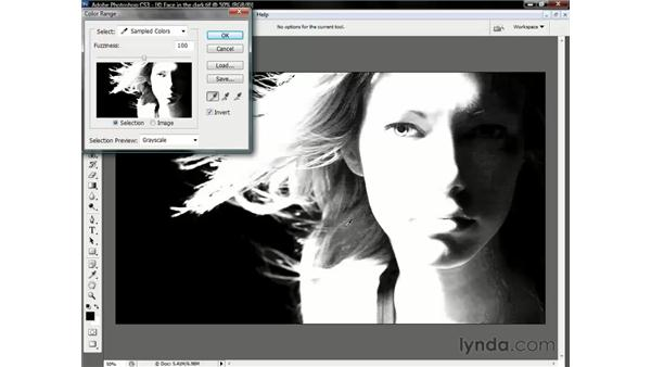 When Color Range falls short: Photoshop CS3 One-on-One: Beyond the Basics