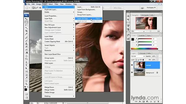 Reducing the edge fringes: Photoshop CS3 One-on-One: Beyond the Basics