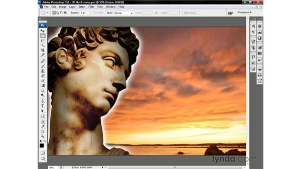 Opacity vs. Fill Opacity: Photoshop CS3 One-on-One: Beyond the Basics