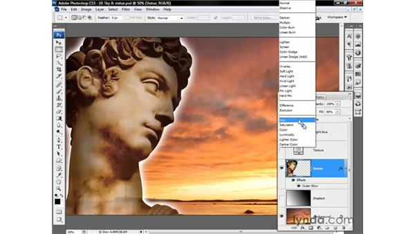 Meet the blend modes: Photoshop CS3 One-on-One: Beyond the Basics
