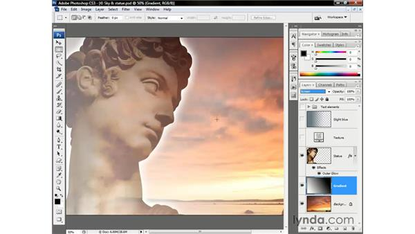 The lightening modes: Photoshop CS3 One-on-One: Beyond the Basics