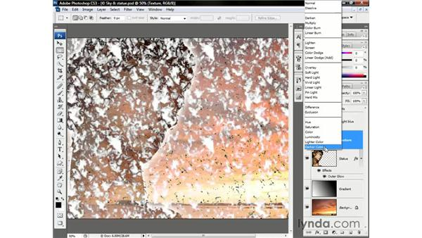 The contrast modes: Photoshop CS3 One-on-One: Beyond the Basics