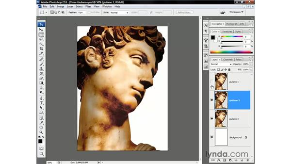 The comparative modes: Photoshop CS3 One-on-One: Beyond the Basics