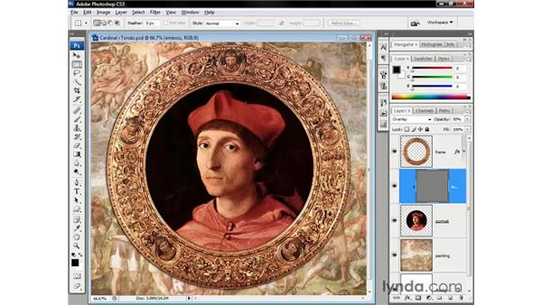 Messing with the masters: Photoshop CS3 One-on-One: Beyond the Basics
