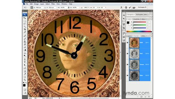 Replaying the last transformation: Photoshop CS3 One-on-One: Beyond the Basics