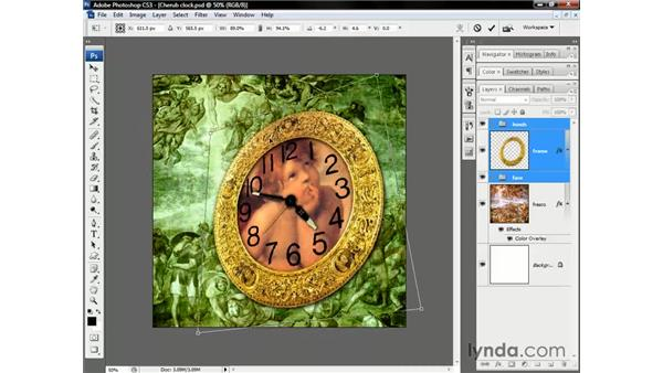 Skews and perspective-style distortions: Photoshop CS3 One-on-One: Beyond the Basics