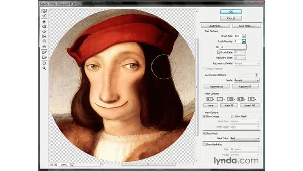 Adjusting the brush settings: Photoshop CS3 One-on-One: Beyond the Basics