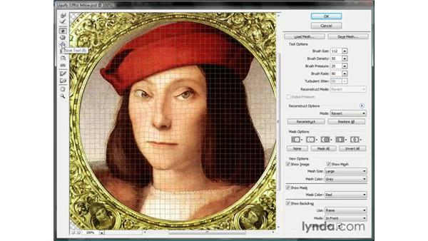 Twirl, pucker, and bloat: Photoshop CS3 One-on-One: Beyond the Basics
