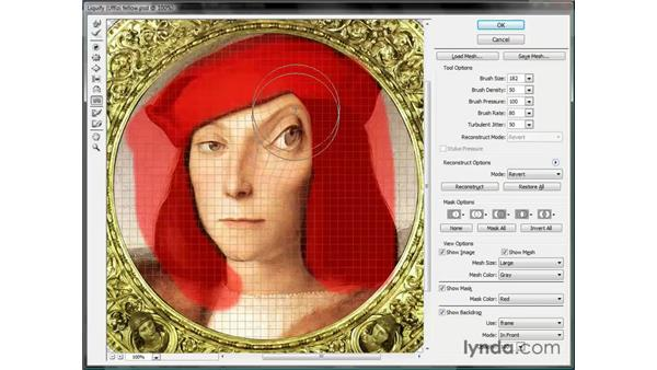 Protecting regions with a mask: Photoshop CS3 One-on-One: Beyond the Basics