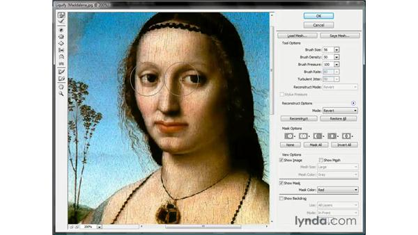 Applying a digital facelift: Photoshop CS3 One-on-One: Beyond the Basics