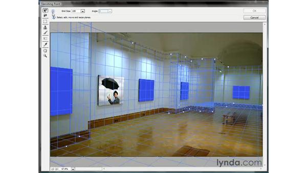 Exporting the gridlines to a layer: Photoshop CS3 One-on-One: Beyond the Basics