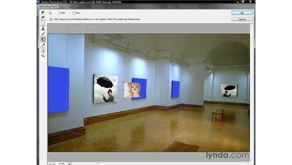 Importing a new image: Photoshop CS3 One-on-One: Beyond the Basics