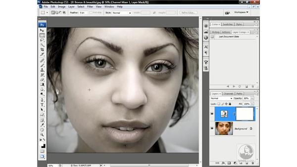 To mask or not to mask?: Photoshop CS3 One-on-One: Advanced Techniques