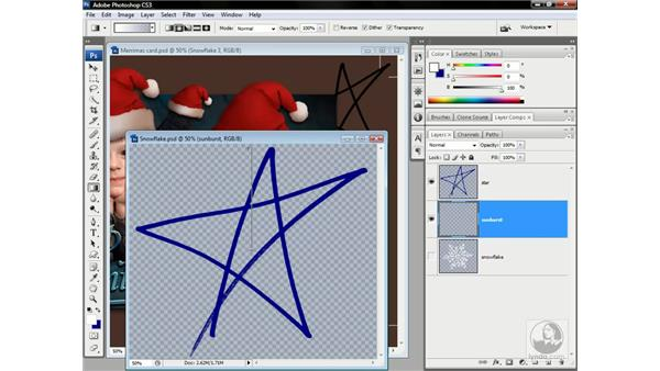 Revising the stars: Photoshop CS3 One-on-One: Advanced Techniques