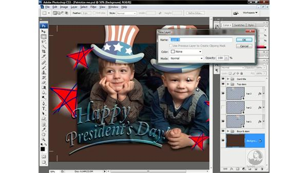 Swapping one Smart Object for another: Photoshop CS3 One-on-One: Advanced Techniques