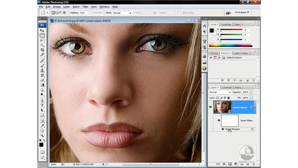 Changing filter and blending settings: Photoshop CS3 One-on-One: Advanced Techniques