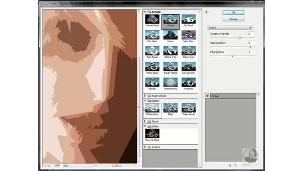Working with the Filter Gallery: Photoshop CS3 One-on-One: Advanced Techniques