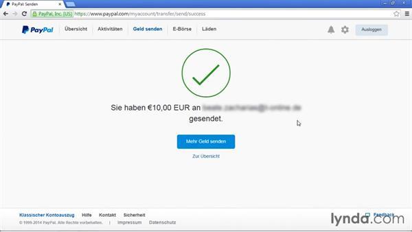 Гјberweisen An Paypal