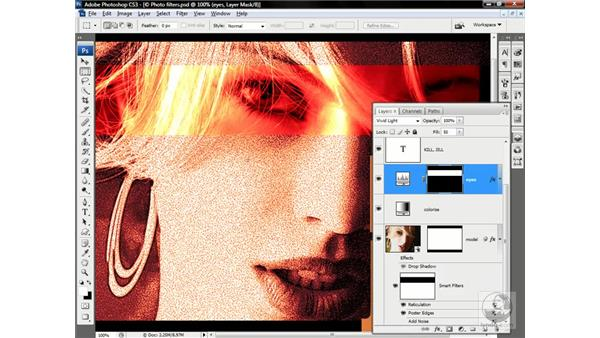 Mixing all varieties of parametric effects: Photoshop CS3 One-on-One: Advanced Techniques
