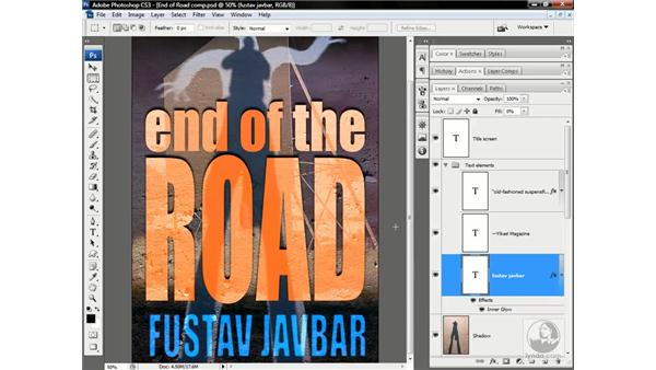 Smart filters vs. layer effects: Photoshop CS3 One-on-One: Advanced Techniques