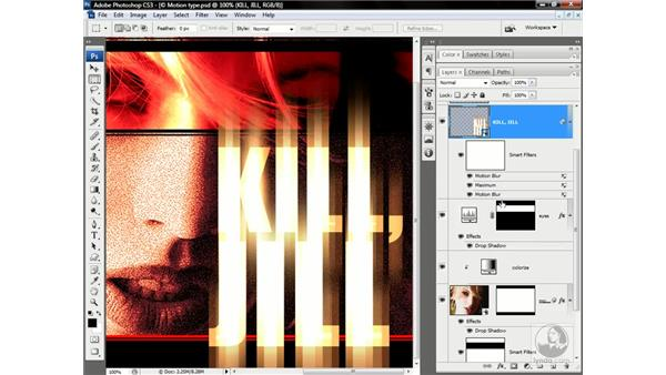 Duplicating a smart filter: Photoshop CS3 One-on-One: Advanced Techniques