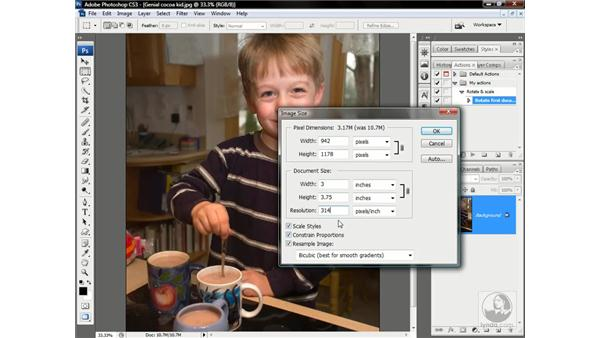 Recording operations: Photoshop CS3 One-on-One: Advanced Techniques