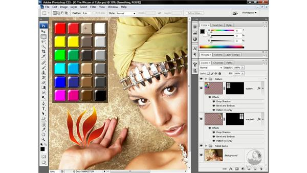 The subjective color-matching image: Photoshop CS3 One-on-One: Advanced Techniques